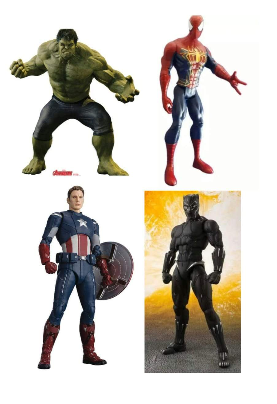 Super Hero Combo Unit 19cm (Approx) - Greatest deals
