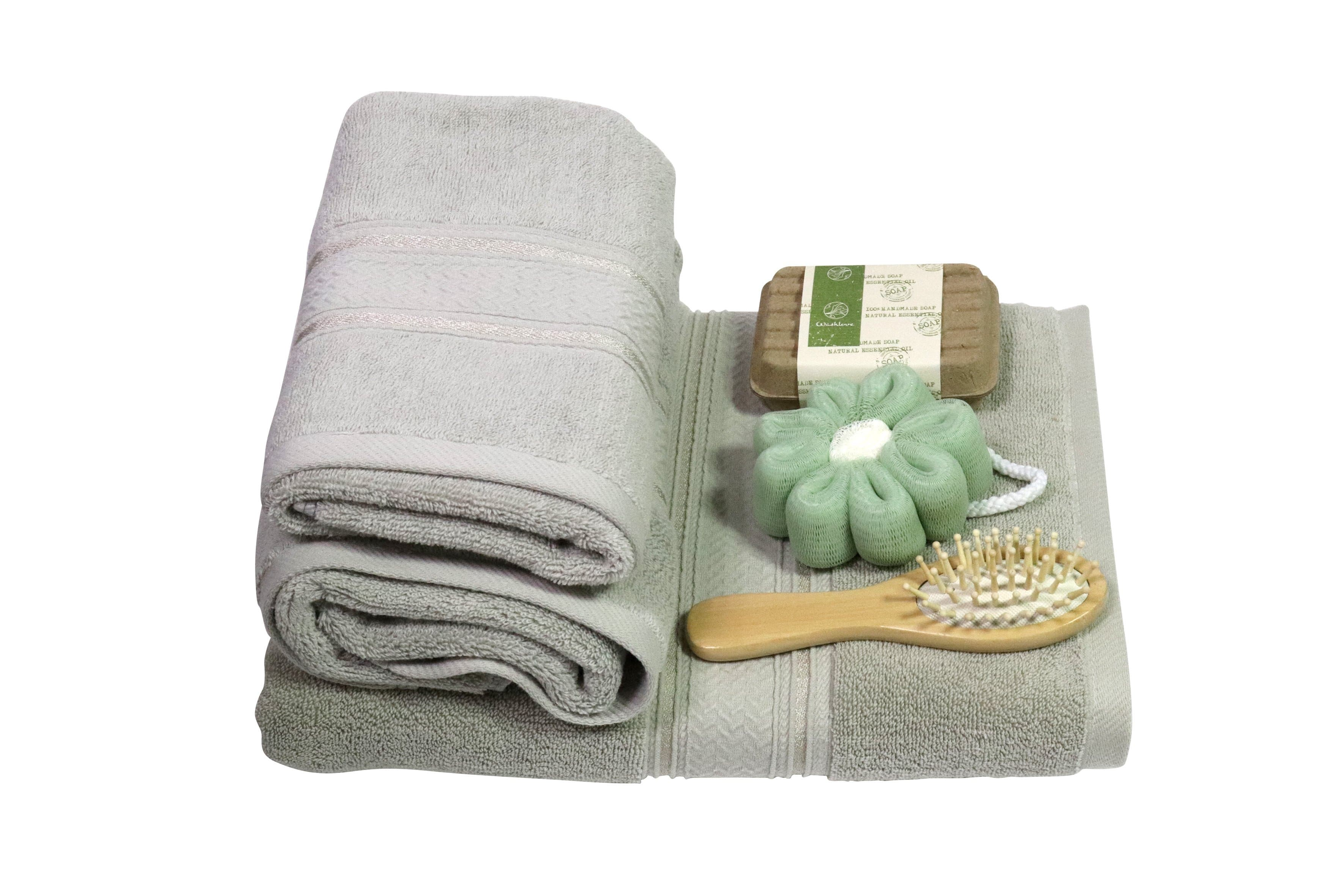 ROSEMARY BATH SET EGYPTIAN COTTON TOWELS