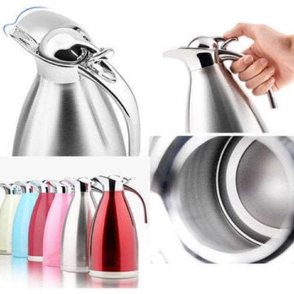 Vacuum Flask (INOX) Stainless Steel (Unbreakable) 2.0l