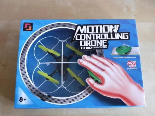 Remote Control Motion Gesture Induction Controlling Drone RC Quadcopter