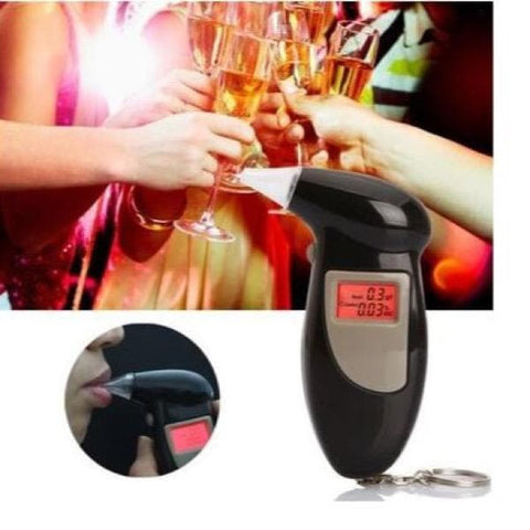 DIGITAL ALCOHOL BREATHALYZER - Greatest deals