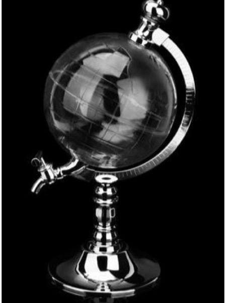 BEVERAGE DISPENSER GLOBE SHAPE