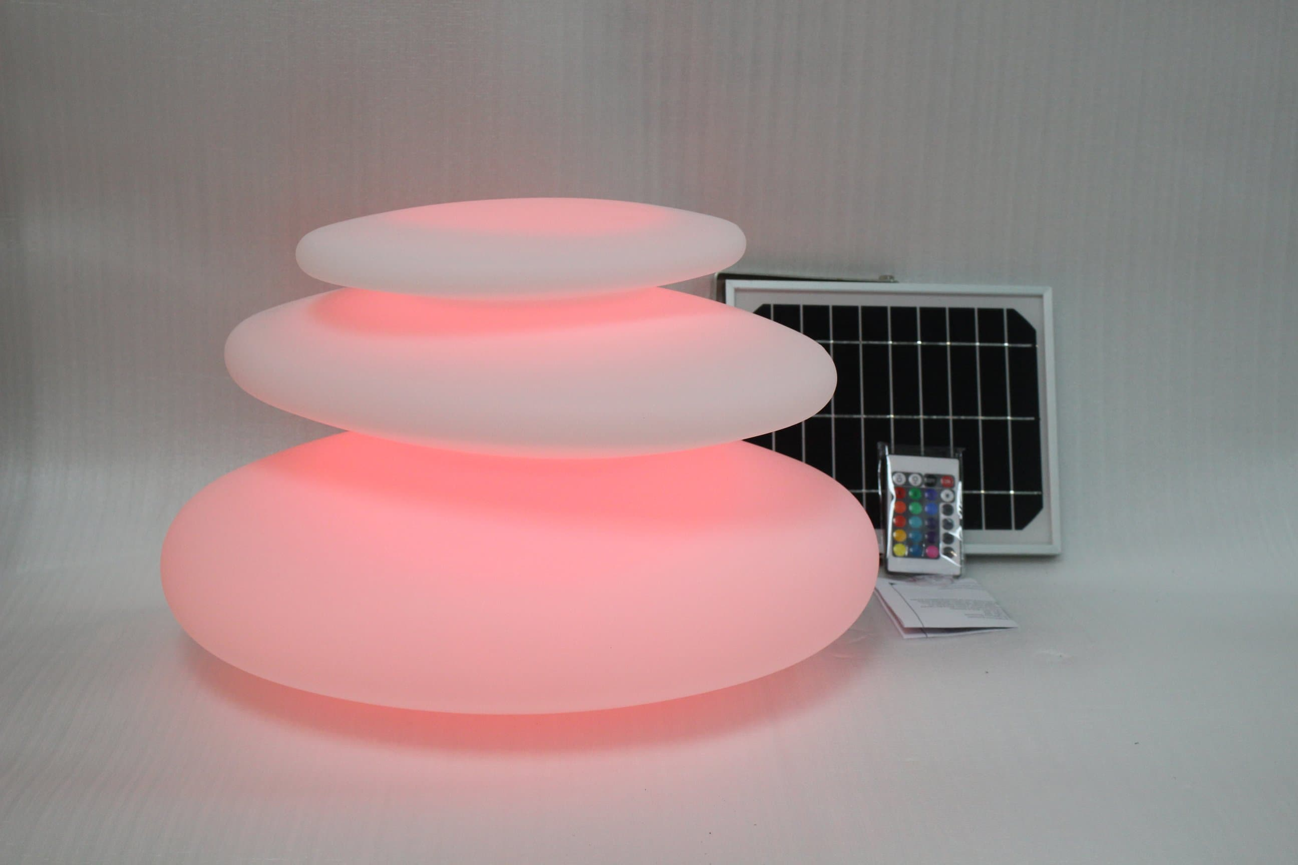 Solar Garden Light Rock