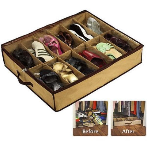 SHOE ORGANIZER SPACE SAVER