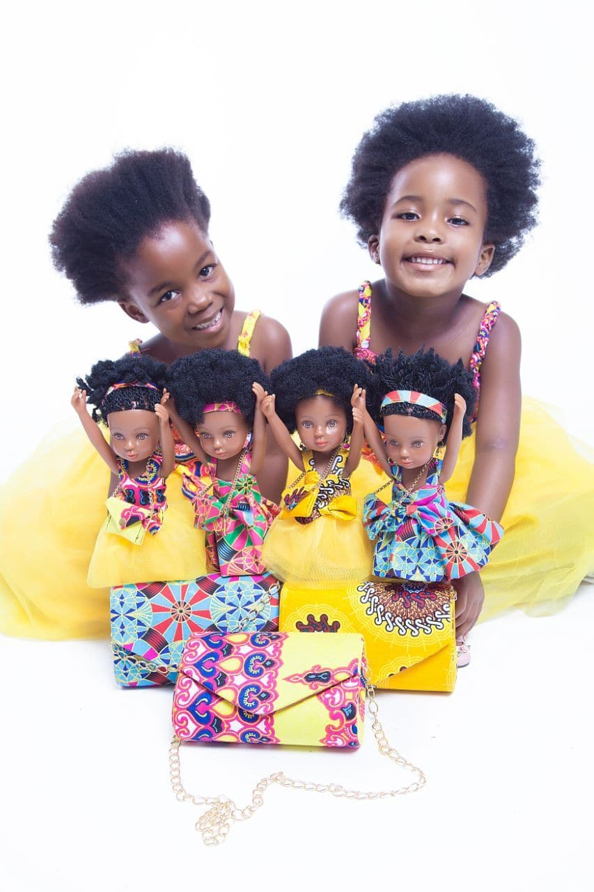 African Queen Mahle Black Doll