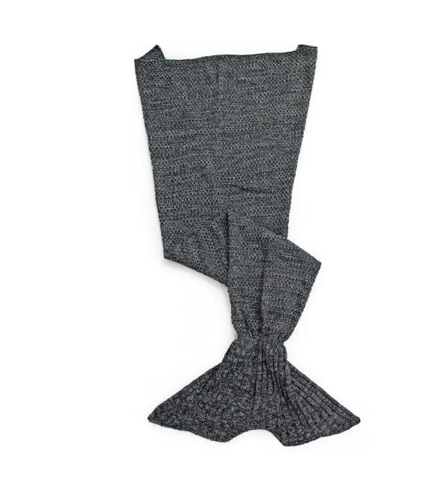 Mermaid blanket Flat - 90*180cm adult, color:Grey