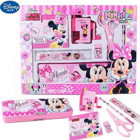 Stationery Set Primary School Learning Equipment (Minnie Mouse) - Greatest deals