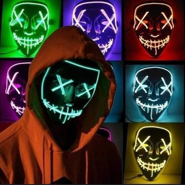 Purge Mask The Movie LED Light (Halloween)