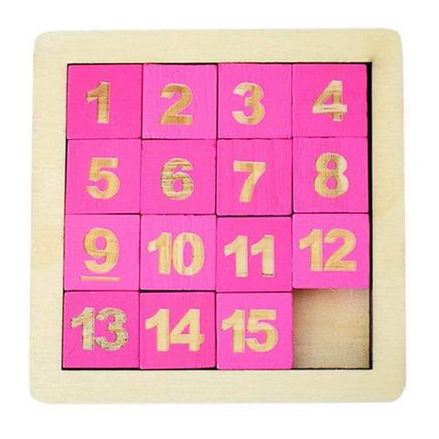 Wooden Digital Klotski (Puzzle) - Greatest deals