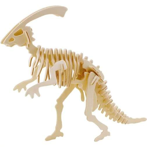 3D Dinosaur Parasaurolophus Puzzle (37pc) - Greatest deals