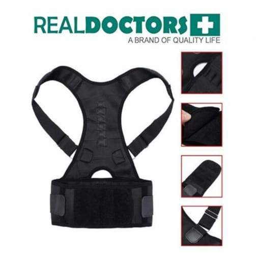 Real Doctors Posture Support Brace L/XL/XXL