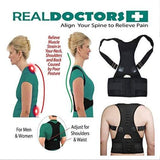 Real Doctors Posture Support Brace L/XL/XXL - Greatest deals