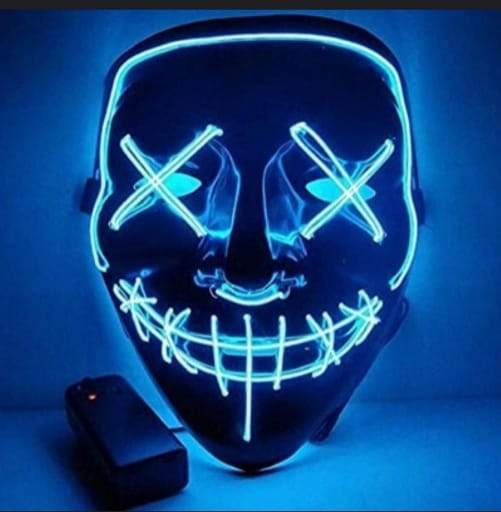 Purge Mask The Movie LED Light (Halloween) - Greatest deals