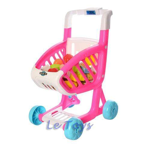 Pretend Play Shopping Cart 41 pcs