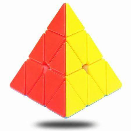 Pyraminx Rubix Pyramid Cube Stickerless Speed Cube 3x3x3 - Greatest deals