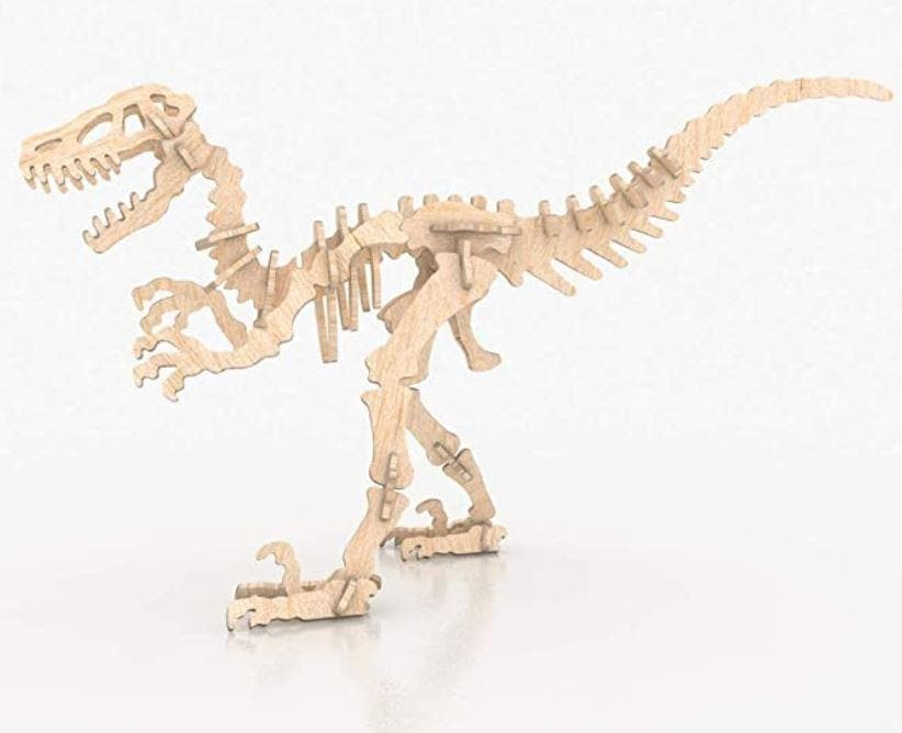 3D Dinosaur Raptor Puzzle (40pc) - Greatest deals