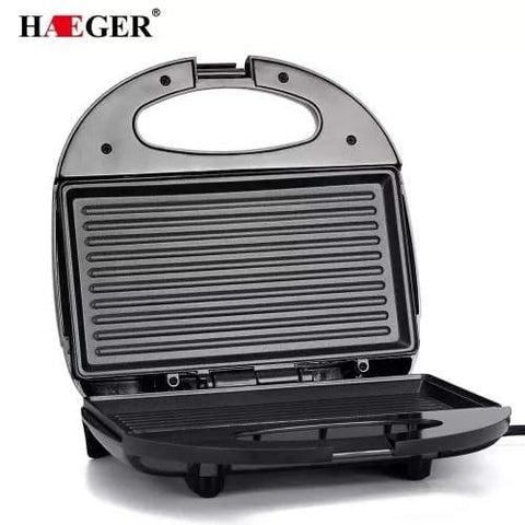 Toaster Sandwich Maker Electric Grill (Haeger) - Greatest deals