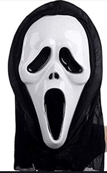 Halloween Scream Mask!