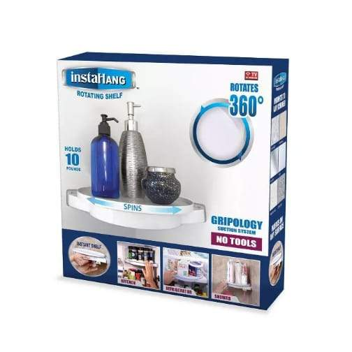 Rotating Shelf Organizer (InstaHang) 360 - Greatest deals