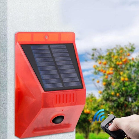 Solar Alarm With RF Remote129DP Siren - Greatest deals