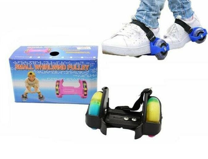 Small Whirlwind Pulley Adjustable Flash Wheel Roller Skating Shoes