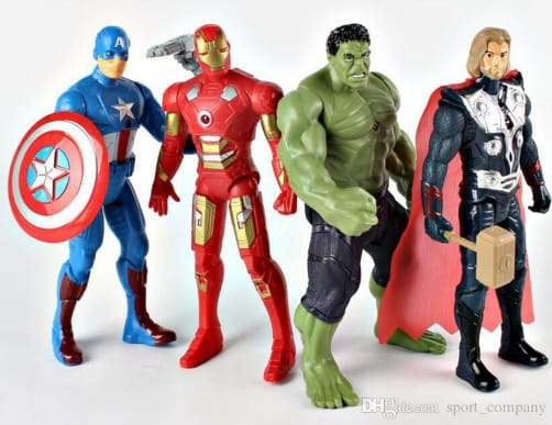 Ultimate Super Hero Combo 25cm Value Pack!