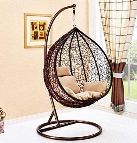 Outdoor Hanging Chair! Brown/Black - Greatest deals