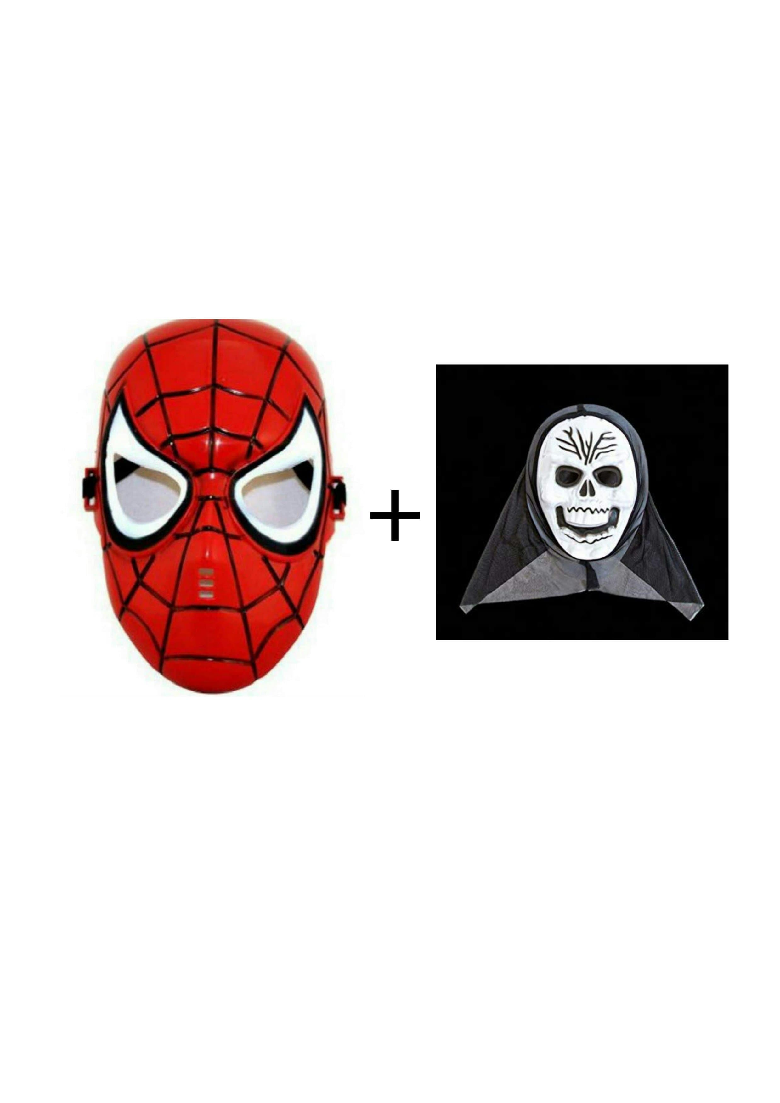 Scream Mask 3 + Spiderman