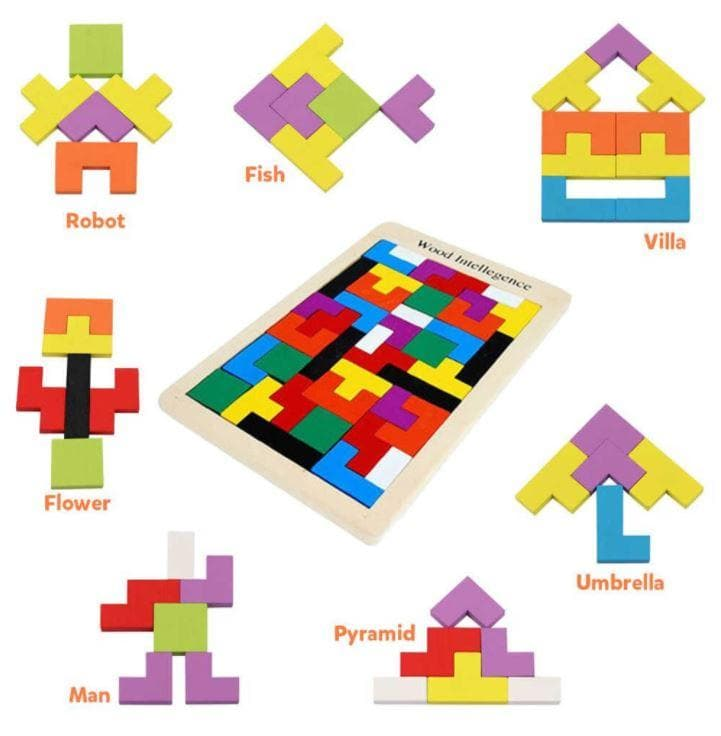 Tetris Block Intelligence Puzzle - Colormix - Greatest deals
