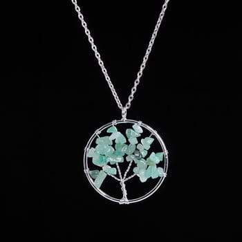 Turquoise Tree Of Life Pendent