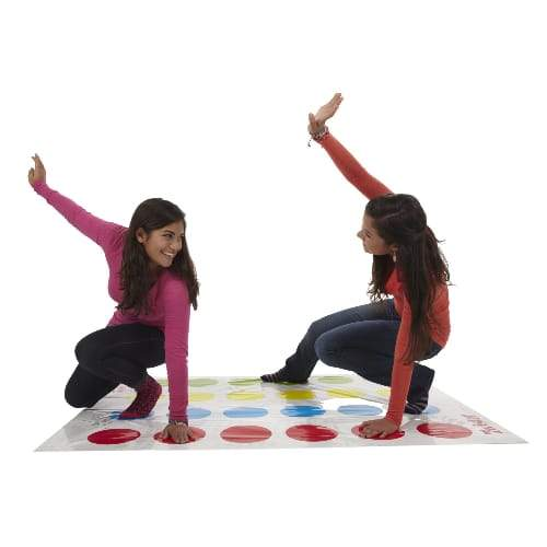 Classic Twister Party Game For Ages 6 & Up, For 2 Or More Players