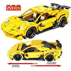 Super Racing Car Technique Building Blocks Model toys - Greatest deals