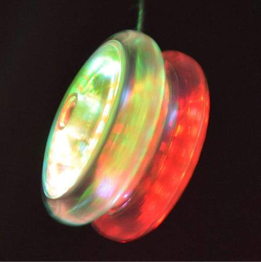 Yo-Yo With Light Function  (Emoji Sticker)