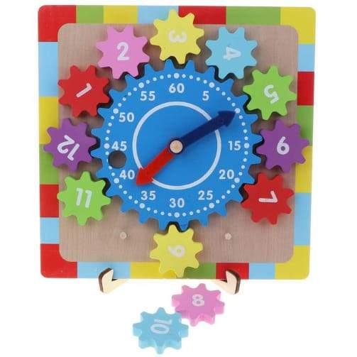 Wooden Gear Clock - Greatest deals