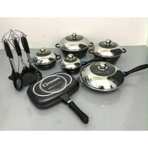 Dessini 23 Piece Non-Stick Cookware Set