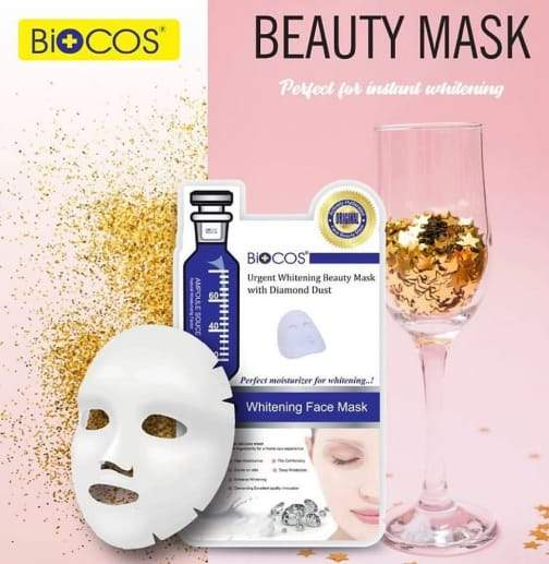 Biocos Diamond Dust Urgent Whitening Sheet