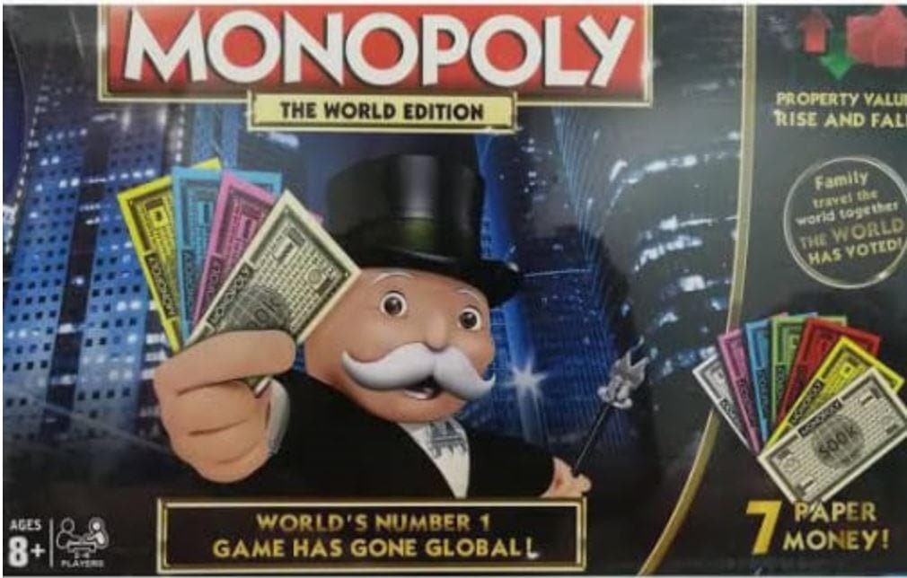 Monopoly World Edition!