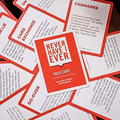 Never Have I Ever a Fun Party Card Game - Greatest deals