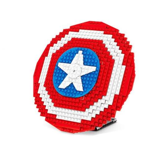 Captain America Shield Puzzle 405pcs 255mm x 255mm - Greatest deals