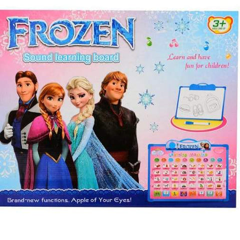 Learning Sound Boards- Spider Man/Angry Birds/Frozen - Greatest deals
