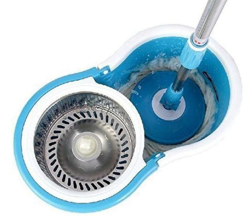Magic Spin Mop With Wheels - Greatest deals