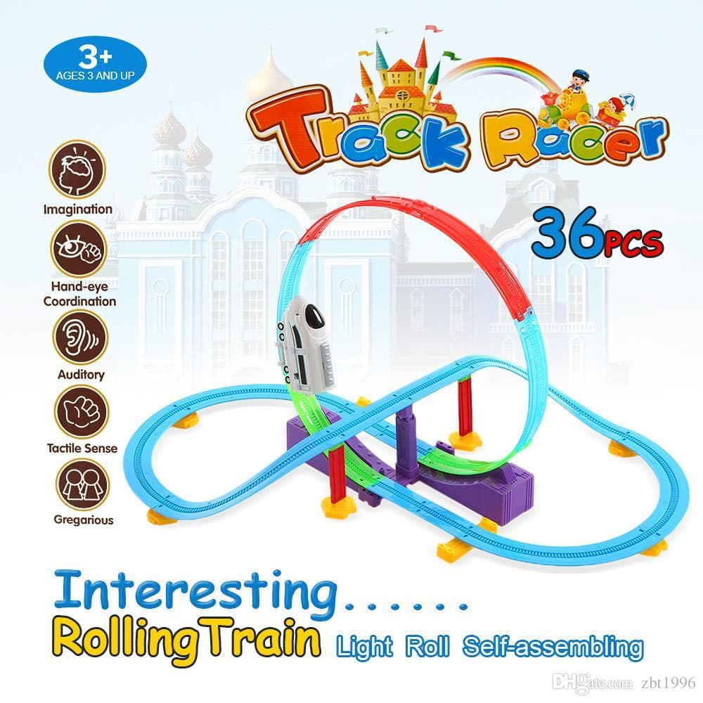 Train Track Racer 36 Piece