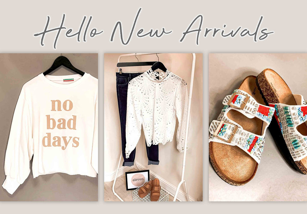 Say Hello To New Arrivals!