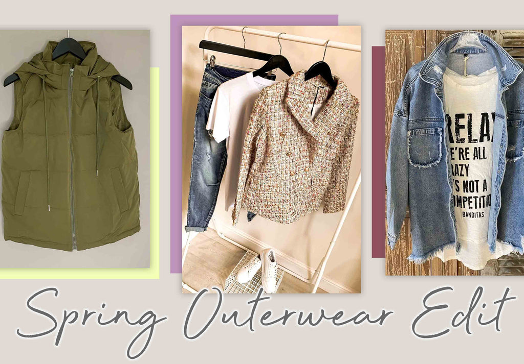 Sally's Edit: Spring Outerwear