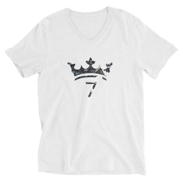 7 Kingdoms - Unisex Short Sleeve V-Neck T-Shirt - GiO (1998) Online Clothes Shop