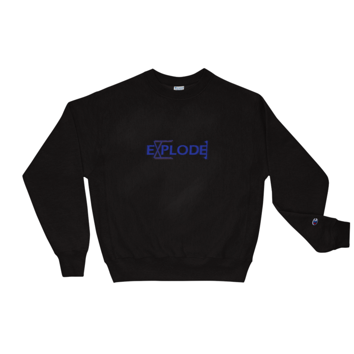 Explode - GiO (1998) & Champion™ Sweatshirt - GiO 1998 Online Clothes Shop