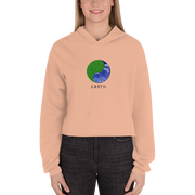 Earth - Crop Hoodie - GiO 1998 Online Clothes Shop