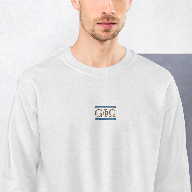 GiO Ancient Greece - Embroidered Sweatshirt - GiO 1998 Online Clothes Shop