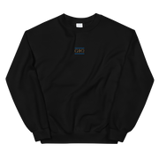 GiO Ancient Greece Embroidered Sweatshirt Black