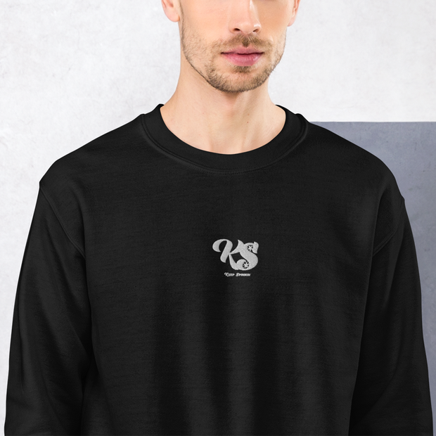 Keep Spinnin' - Embroidered Sweatshirt - GiO 1998 Online Clothes Shop